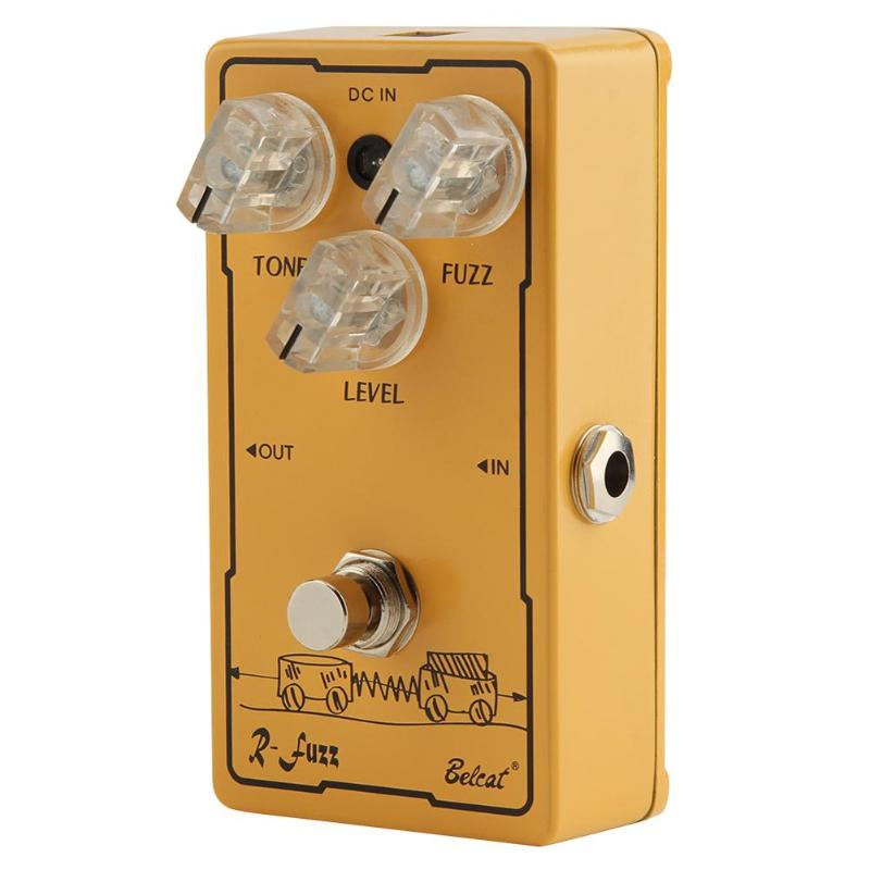 Bass Fuzz Effect Guitar Pedal Guitar Effect Pedal ClassicBass Fuzz Tone True Bypass Tremolo Pedal Guitar Parts Accessories mooer fog bass fuzz pedal full metal shell true bypass guitar effect pedal