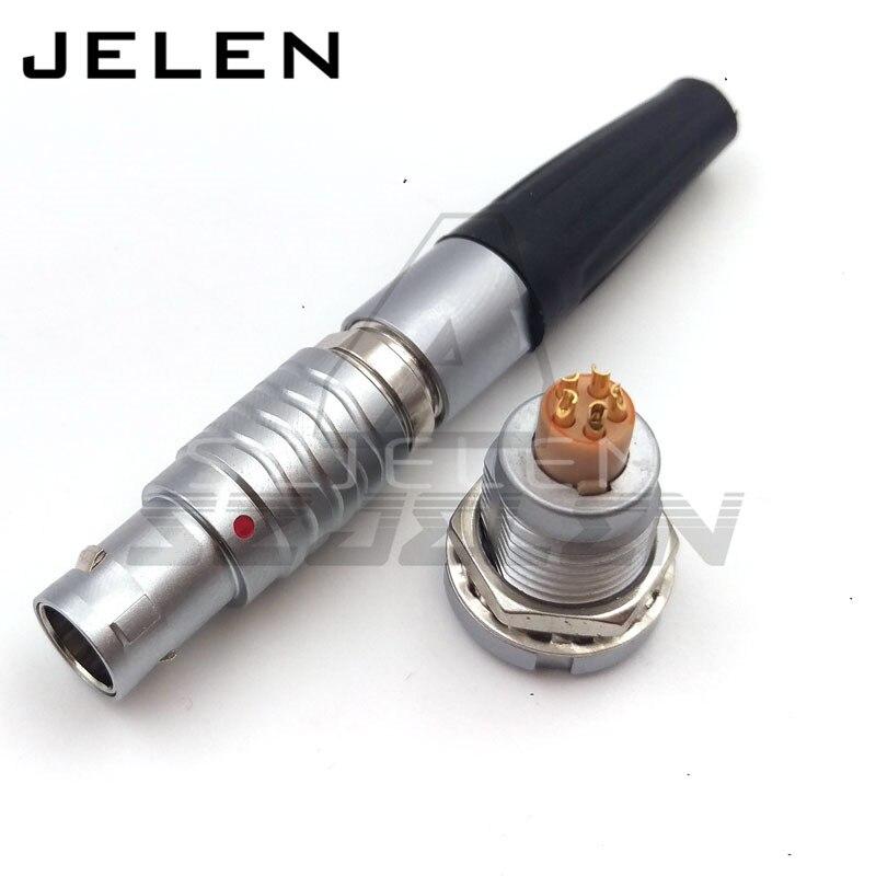 Wholesale Metal push pull connector, cross lemo elbow Plug and receptacle PN:FGG.1B.305/EGG1B.305