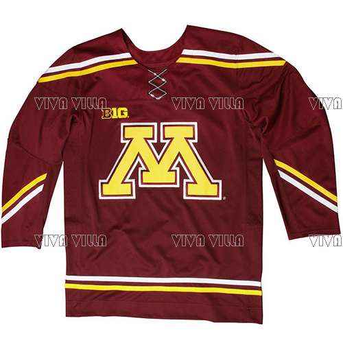 Minnesota Golden Gophers Hockey Jersey Customized Any Name Any Number Ice Hockey Jersey Retro College Colosseum Stitched Jersey 50 2015 ice hockey jersey