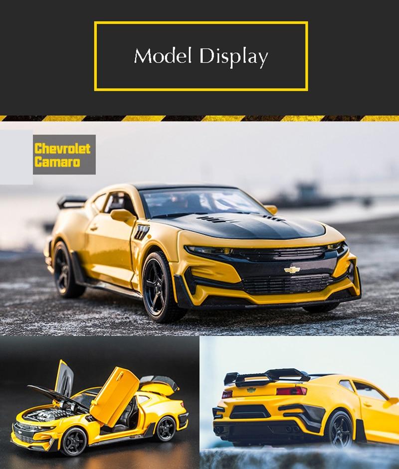 Chevrolet Camaro High Quality Alloy Toy Car 16x6.5x4.6 cm 40