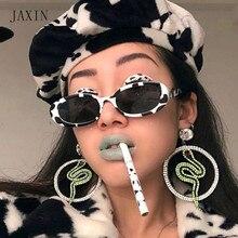JAXIN New Fashion oval Sunglasses Women personality trend Sun Glasses brand design gorgeous wild eyewear UV400oculos