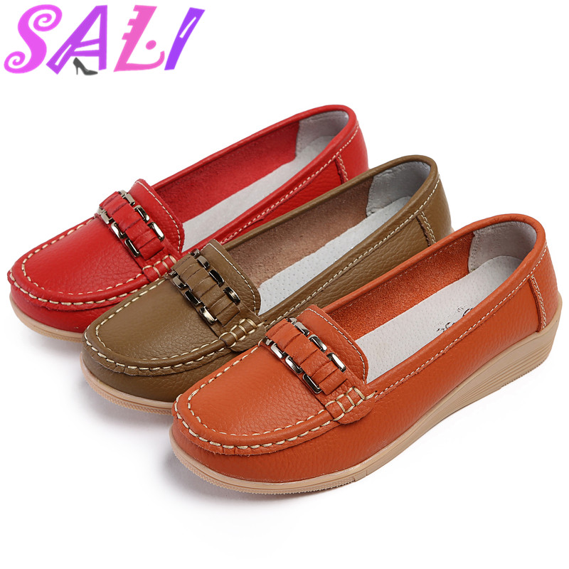 13 colors slope with mother shoes tendon at the end super soft non-slip work shoes large size shoes womens singles