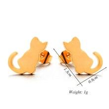 Kitten ear studs