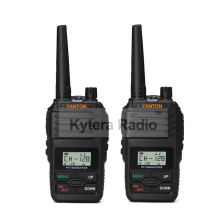 YANTON Mini Walkie Talkie Single Band VHF 136-174 or UHF 400-480MHz Portable Two Way Radio 5W  Waterproof 199 Channels 2 pcs