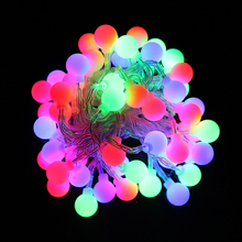 2M 3M Led String light Color Ball powered by AA battery Holiday christmas home party decor night light Lantern VR