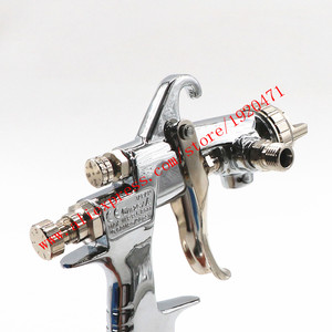 Image 4 - W 101 Spray Gun W101 134g HVLP manual spray gun 0.8 / 1.0 / 1.3 / 1.5 / 1.8mm 400ml furniture automatic painting, car paint gun