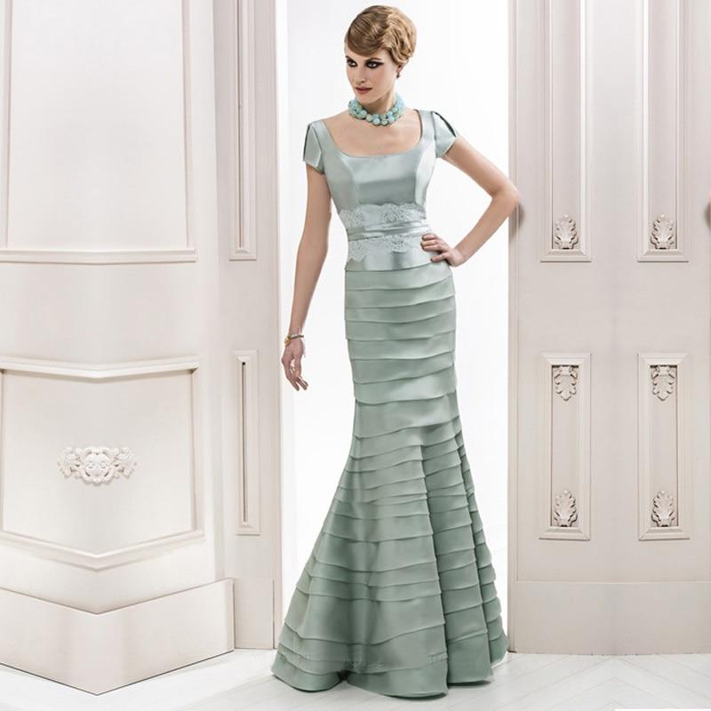 Aliexpress.com : Buy Elegant Olive Green Mermaid Square Short ...