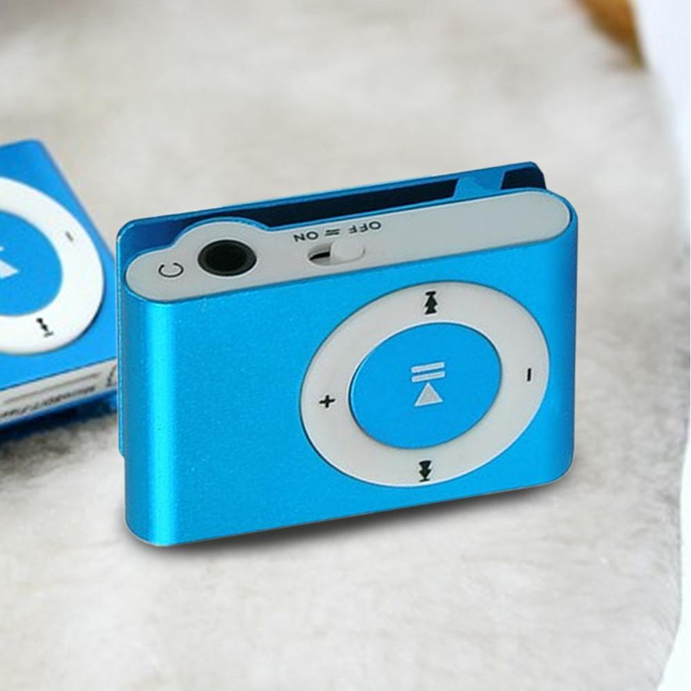 SeenDa Protable Mini Clip MP3 Music Player USB MP3 Player Support Micro TF Card Slot Candy Colors Mirror Sport MP3 Player