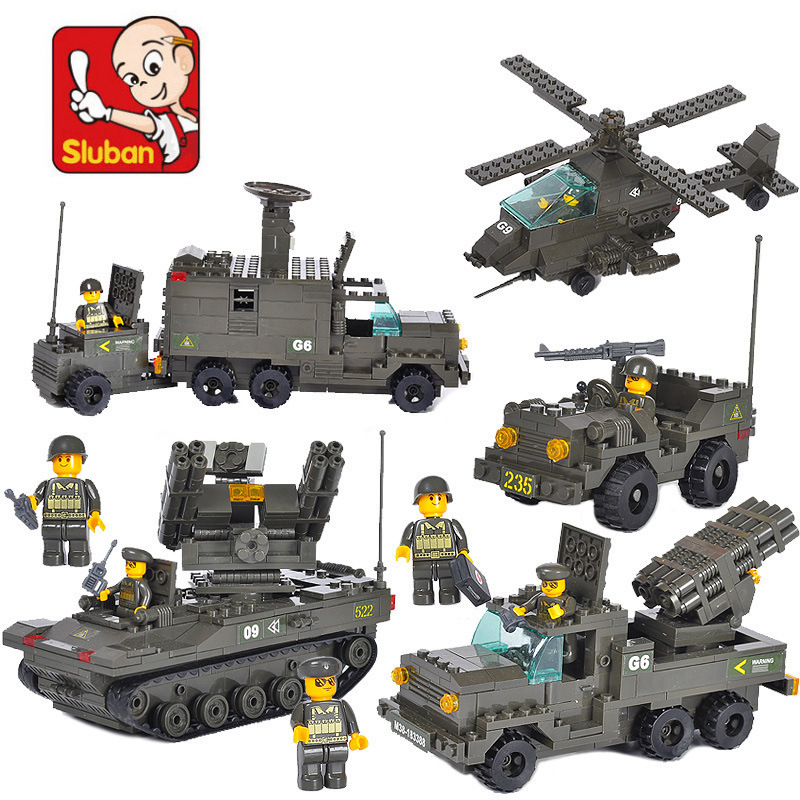 Building Block Sets Compatible military anti aircraft artillery troops 3D Construction Brick Educational Hobbies Toys|building blocks|compatible with lego|building blocks set - title=