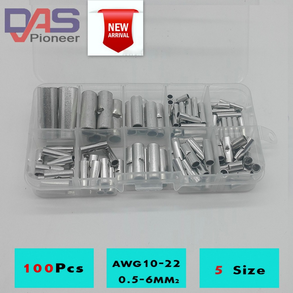 675pcs/Kit cable connector splice insulated terminal block kit wire ...