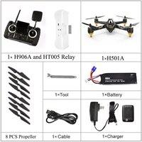 Hubsan X4 aire H501A H501A versión avanzada WIFI FPV sin escobillas con HD 1080P Cámara GPS Waypoint RC Quadcopter RTF