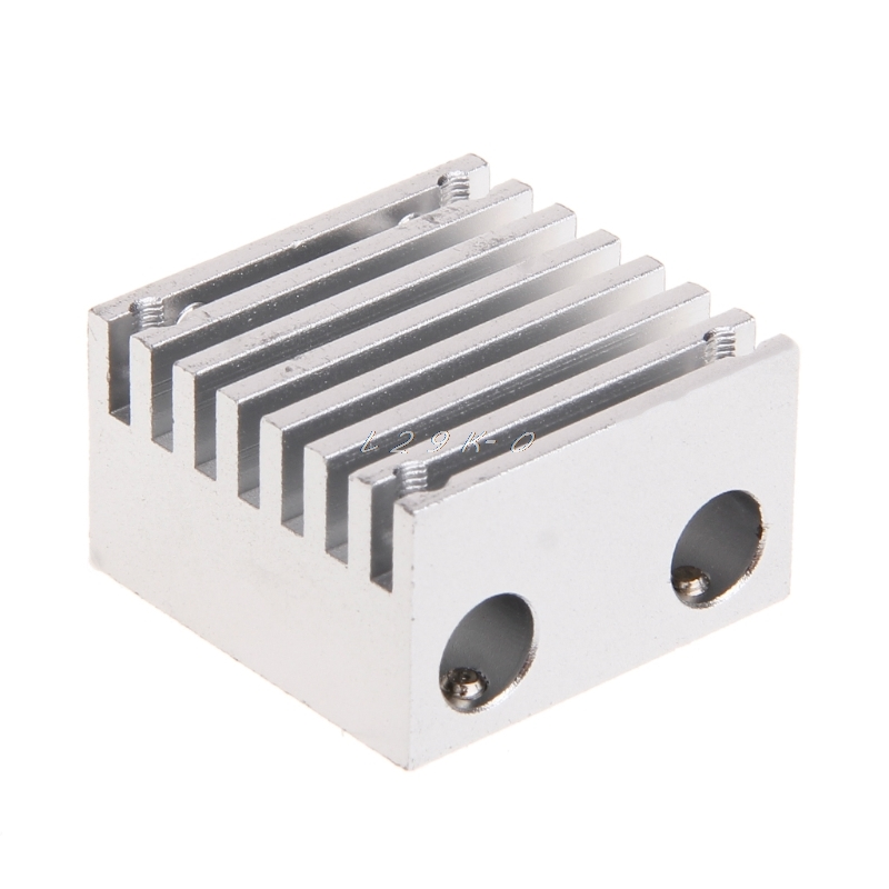 3d Printer Chimera E3d Dubbele Sproeikop Koellichaam E3d Metalen Diy Extrusie Aluminium Blok Toepassen Op 1.75mm Fliament