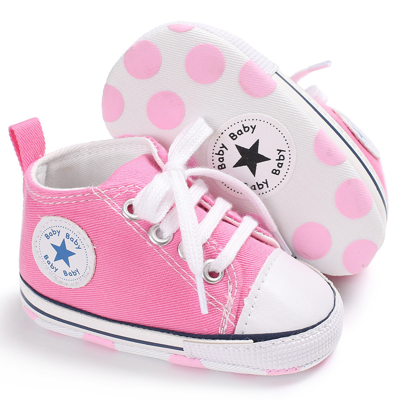 Newborn Classic Canvas Baby Shoes Girl Boys Sport Sneakers Kids First Walkers Children Booties Infant Bebe Sapatos