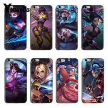 4a52abfda Yinuoda arena of valor Protective transparent soft tpu Mobile Phone Case  For iPhone X XS XsMax