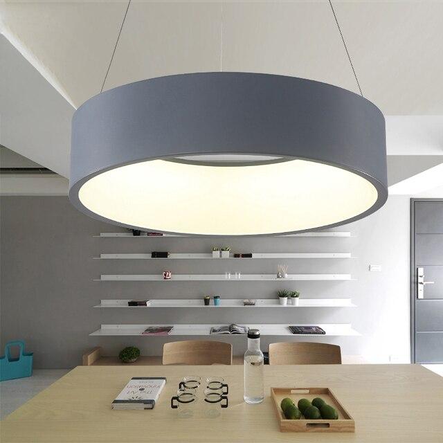 buy modern led pendant lights circle