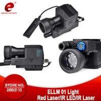 Element Airsoft latarka taktyczna eLLM01 Laser na podczerwień pistolet lekki karabin wojskowy latarka myśliwska broń latarka EX214