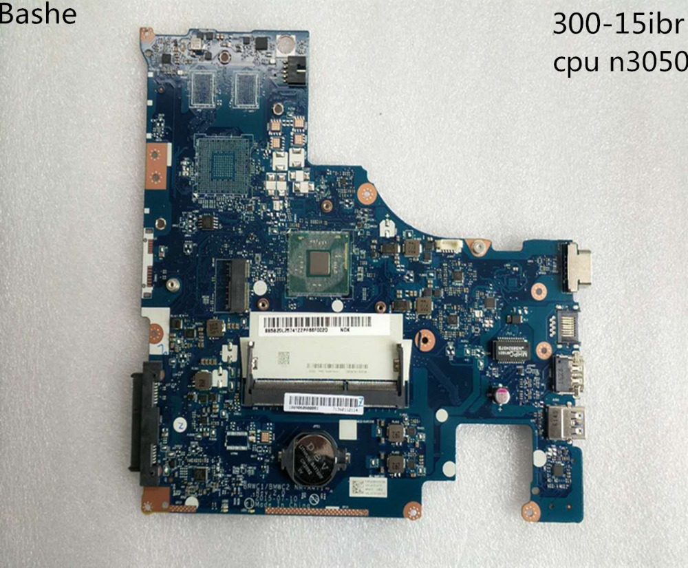 CPU N3050 Lenovo 300 15ibr BMWC1 BMWC2 nm a471 notebook computer motherboard free shipping 100 test