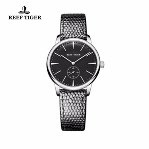 Image 2 - リーフ虎/rtカジュアルカップル腕時計シンプルなスタイルクォーツ腕時計女性のための超薄型ステンレスダイヤルRGA820