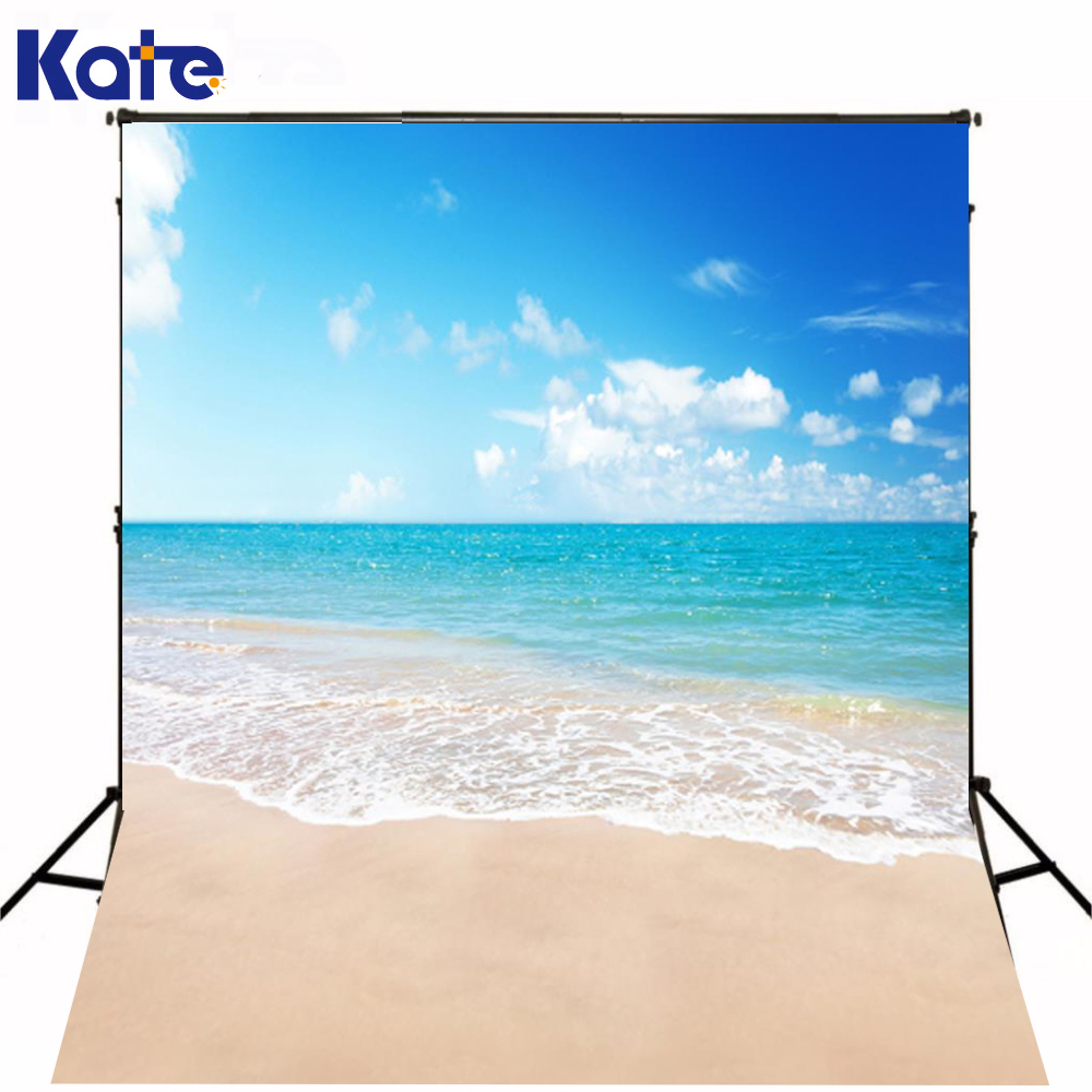6.5X10Ft(200X300Cm) Kate Photography Backdrops Studio Background Baby  Blue Sky Beach Resort  Photo Shoot Background blue sky чаша северный олень