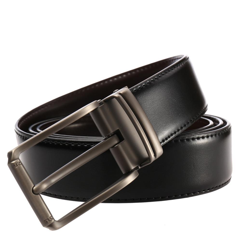 2019 Men 39 s Belt Leather Belt Men Male Genuine Leather Strap Luxury Pin Buckle Casual Men Belt Cummerbunds Ceinture Homme in Men 39 s Belts from Apparel Accessories