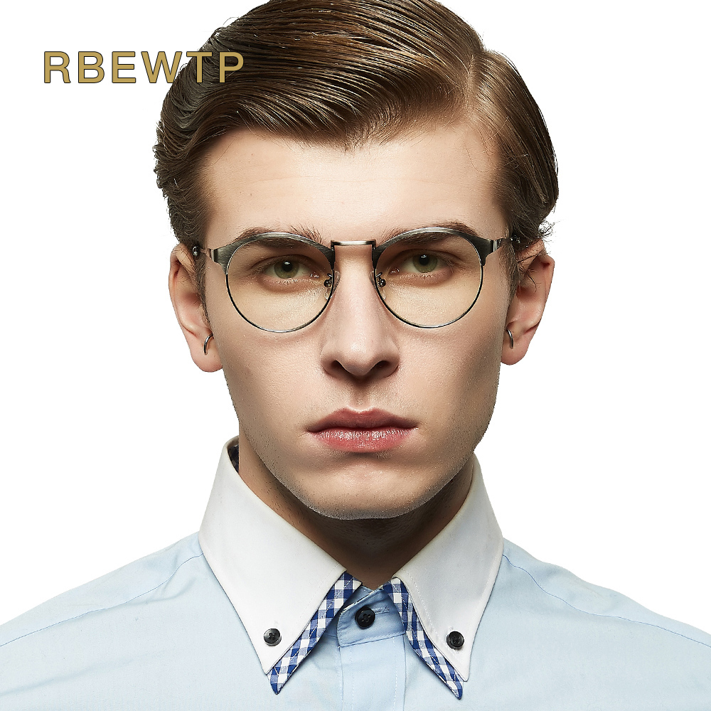 RBEWTP Unisex Blue Light Blocking Glasses Goggles led Reading Radiation-resistant Clear eye Glasses Computer Gaming Glasses Men