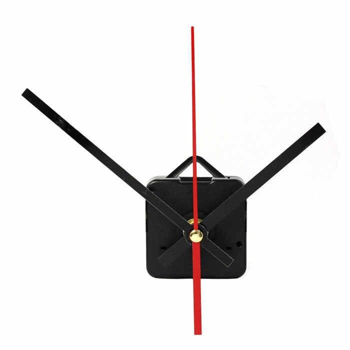 1 zestaw cichy duży zegar ścienny mechanizm zegara kwarcowego części naprawcze DIY zegarek zegar ścienny ruch z rękami # L