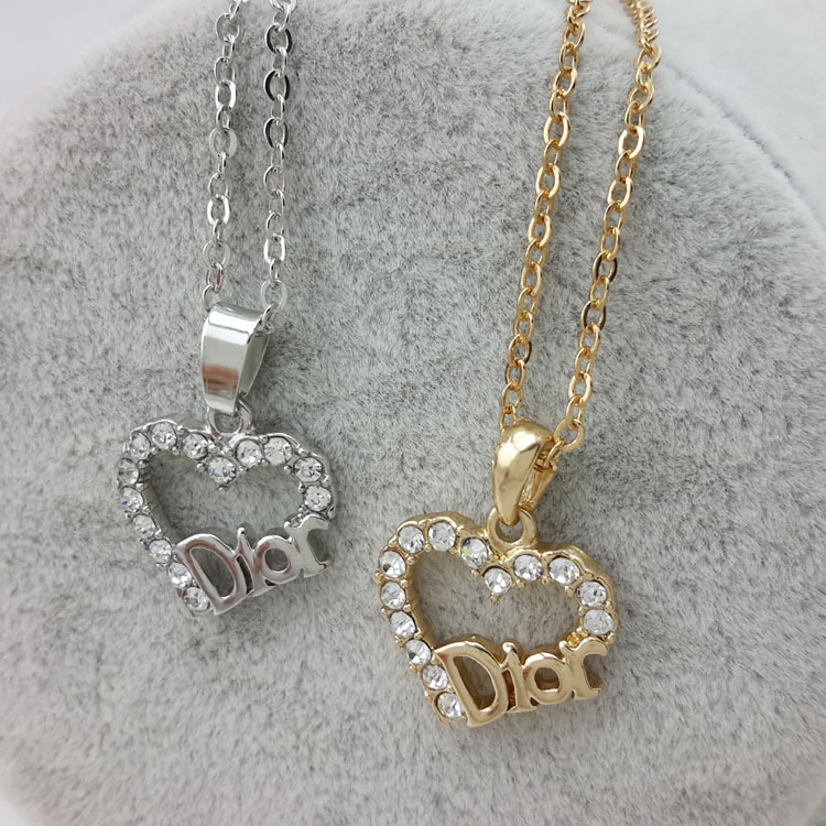 wholesale free shipping austria crystal fashion letter d heart