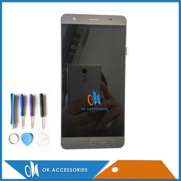 imágenes para 1 PC/Lot Blanco Gris Color Para Elephone p7000 Digitalizador de Pantalla Táctil + Pantalla LCD Con Herramientas