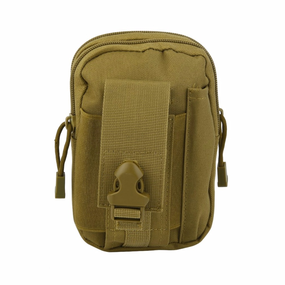 Outdoor Military Tactical Waist Belt Camping Climbing Bag Nylon Purse Sports Hiking Trav ...
