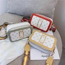Bag for women 2019 New fashion small bag printing shoulder camera wide shoulder strap Messenger women bag цена и фото