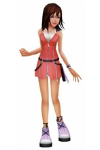 Kairi Red Cosplay Costume from Kingdom Hearts I Free Shipping for Halloween and Christmas