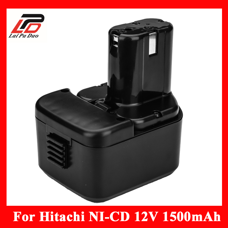 цены For Hitachi 12V 1.5Ah Ni-CD Replacement Power Tool Battery For Hitachi EB1212S EB1214L EB1214S EB1222HL EB1230X EB1220BL 322629