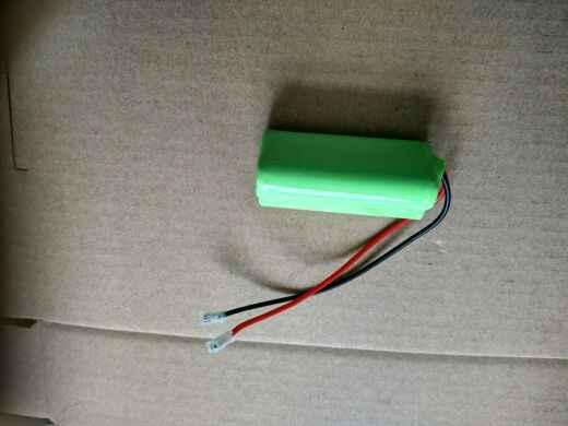 El triángulo de 3 x AAA800mAh 3,6 V teléfono inalámbrico compuesto batería NiMH batería recargable