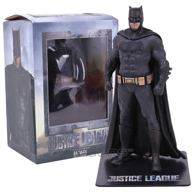 DC Justice League Batman ARTFX + STATUE 1/10 Scale PVC Figure Collectible Model Toy batman figure justice league artfx statue x men weapon x iron man bruce wayne action figure model collection toy