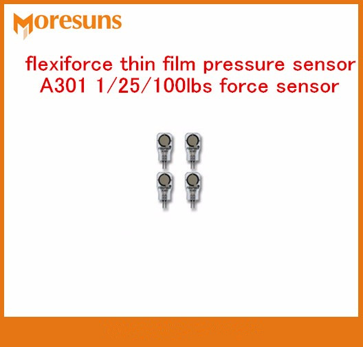 Fast Free Ship 5PCS/Lot New And Original For Flexiforce Thin Film Pressure Sensor A301 1/25/100lbs Force Sensor