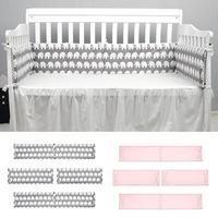 Baby Bed Guardrail Baby Anti collision Bed Cushion Cotton Baby Bedding Variety Flower Pattern Child Care