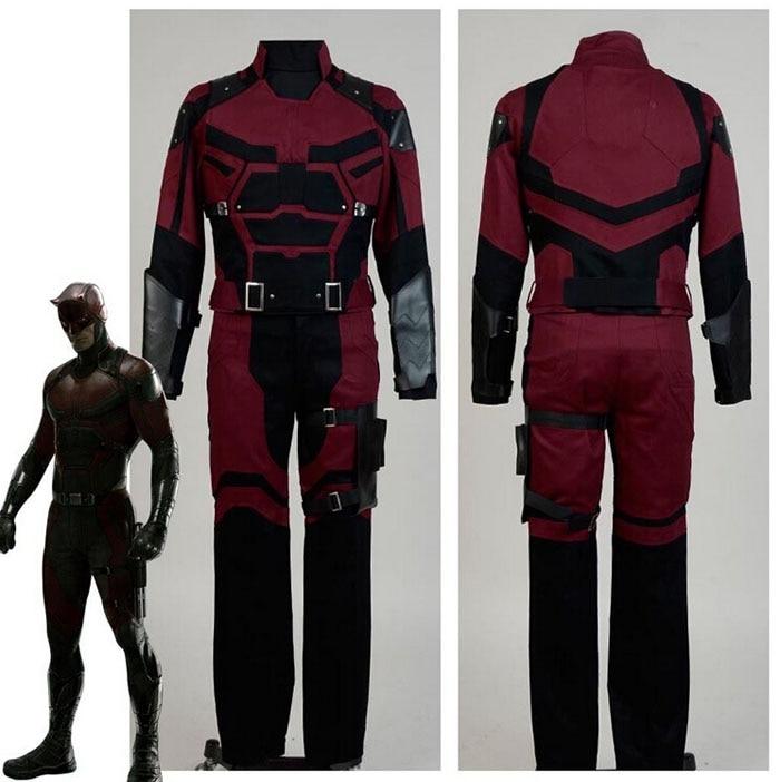 Daredevil Matt Murdock Cosplay Costume Uniform New Beautiful Well Made Fashion