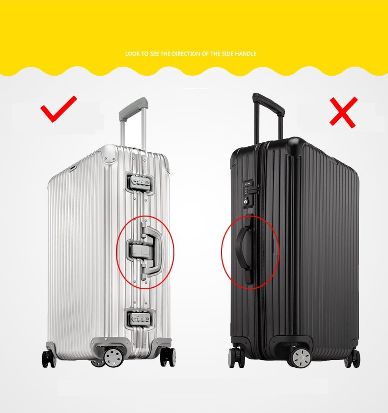 Luggage Protective Cover For 19-32 inch Trolley Suitcase Protect Dust Bag Case Child Cartoon Travel Accessories 8