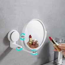 цена на Brand New Double Side Hairdressing Mirror Desk Makeup Mirror 1:2 Magnifying Function Glass Cosmetic Mirrors