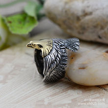 925 sterling silver jewelry Thai silver restoring ancient ways Spread eagles fashion atmosphere opening ring