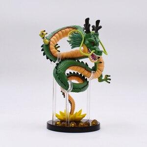 Image 2 - 15 cm Anime yeşil ejderha ShenRon ShenLong PVC Action Figure koleksiyon Model oyuncak ücretsiz kargo