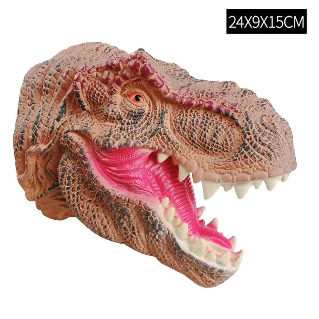 Jurassic Dinosaurs Spinosaurus Head Glove Hand Puppet Role Play Toys Kids Gift