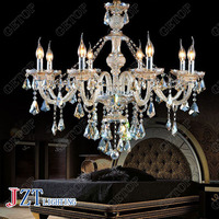 J best price new fashion light K9 Crystal Chandelier Modern 8 Lights Candle Crystal ceiling light for dining room living room