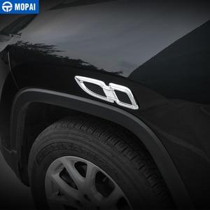 Image 2 - Mopai車のステッカージープグランドチェロキー車体エアフローベントカバーフェンダーエンジン用ジープグランドチェロキーアクセサリー