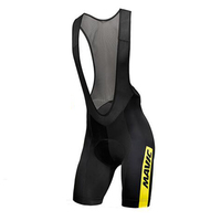 2017 Mavic Summe RMen 9D GEL Pad Breathable Bycicle Wear Quick Dry Cool Cycling Bib Shorts