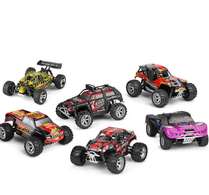 New RC Vehicle Car Toys 18401-18409 2.4G 4WD 1/18 25km/h bigfoot high speed Electric RTR Off-road Buggy Remote Control SUV car 2017 new arrival a333 1 12 2wd 35km h high speed off road rc car with 390 brushed motor dirt bike toys 10 mins play time