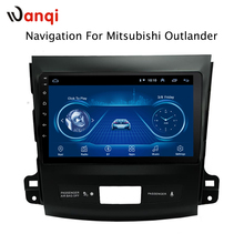 9 inch Android 8.1 2.5D Tempered HD Touchscreen Radio for Mitsubishi Outlander 2006-2012 with Bluetooth USB WIFI support SWC