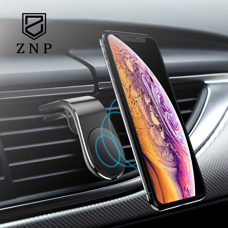 Image 5 - ZNP Car Phone Holder For Phone In Car Mobile Support Magnetic Phone Mount Stand For Tablets And Smartphones Suporte Telefone-in Phone Holders & Stands from Cellphones & Telecommunications