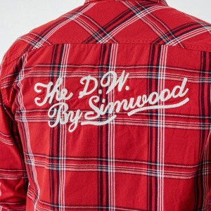 Image 5 - SIMWOOD New 2020 Autumn Casual Plaid Shirts Men High Quality Letter Embroidered Shirt Male High Quality Brand Clothing 190205