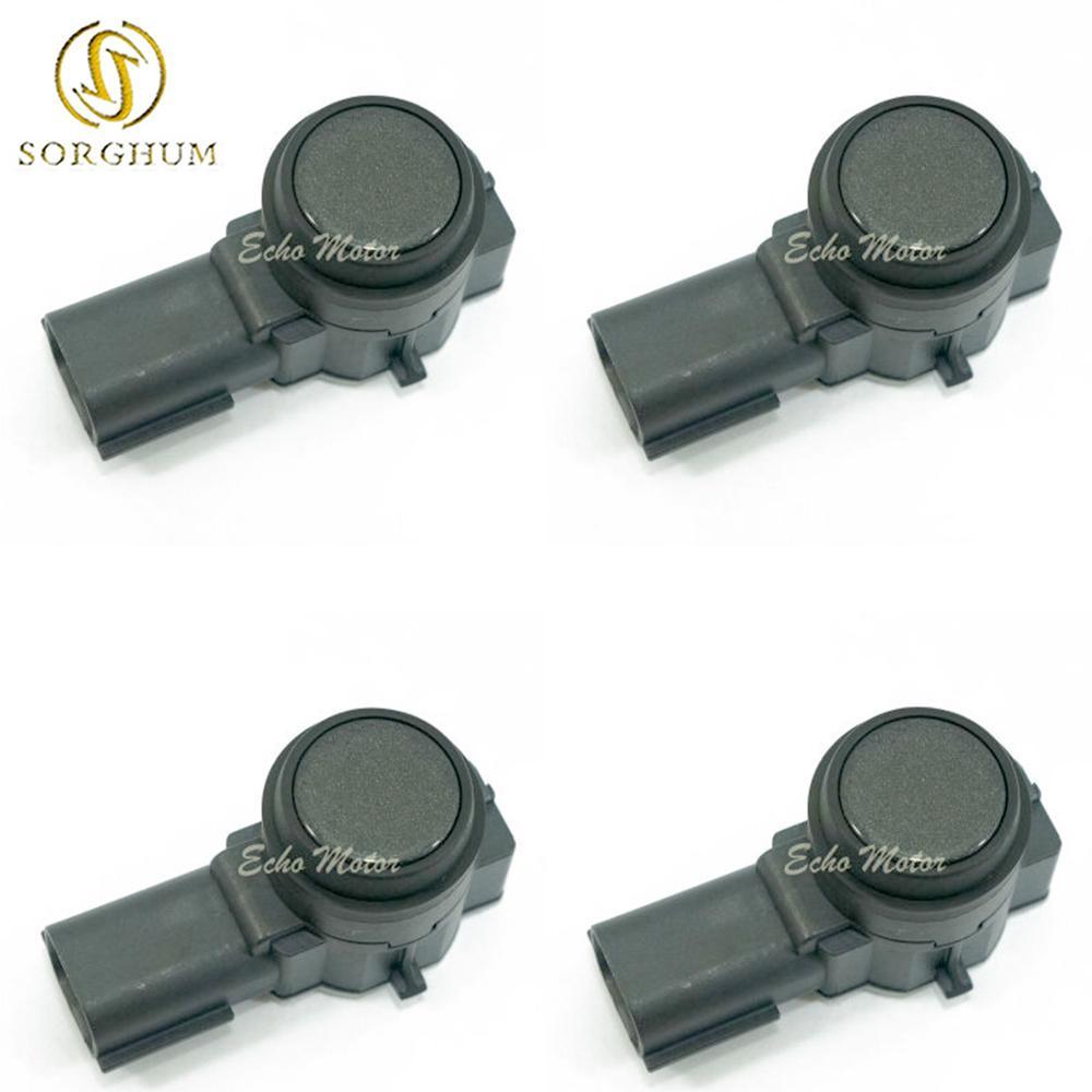 For GMC GM 4 Parking Sensors LCD LED  Car Auto Reverse Radar System Backup Sound